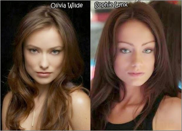 dobles de actrices porno