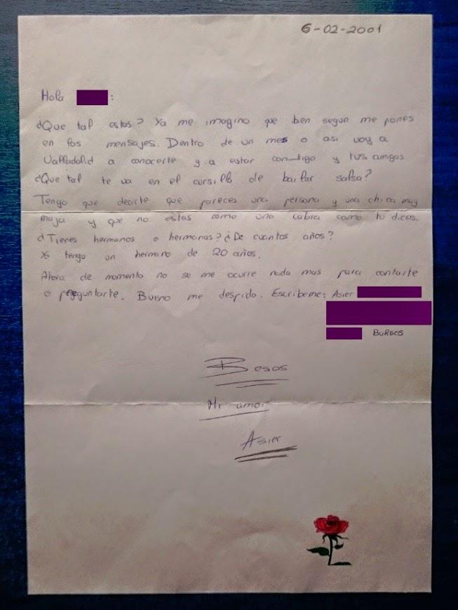 carta de Asier
