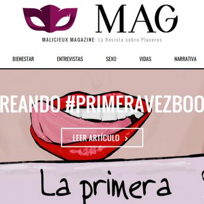 Creando #PrimeraVezBook (en @PMalicieux)