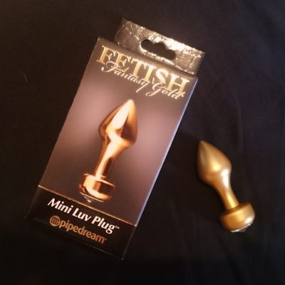 Mini plug Fetish Fantasy Gold de Pipedream – Review