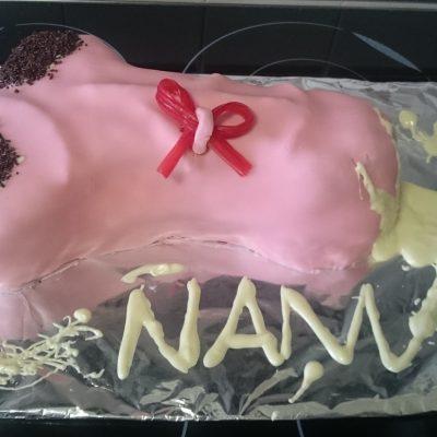 Cómo hacer una tarta pene – Receta