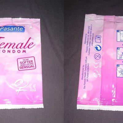 El condón o preservativo femenino