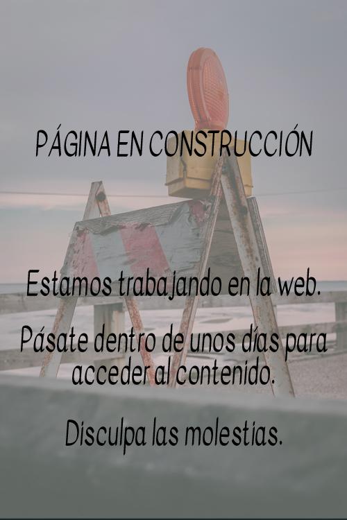 web construcción